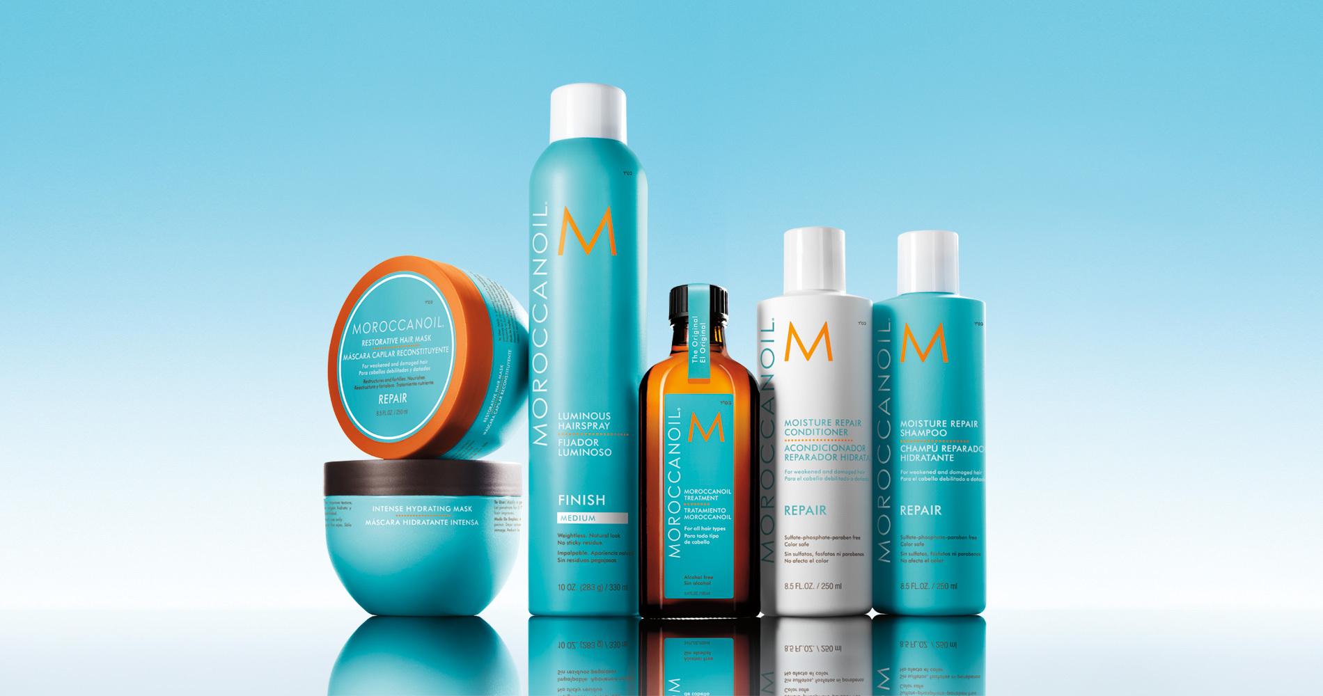 Haarsalon Anja-Moroccanoil-Produktserie