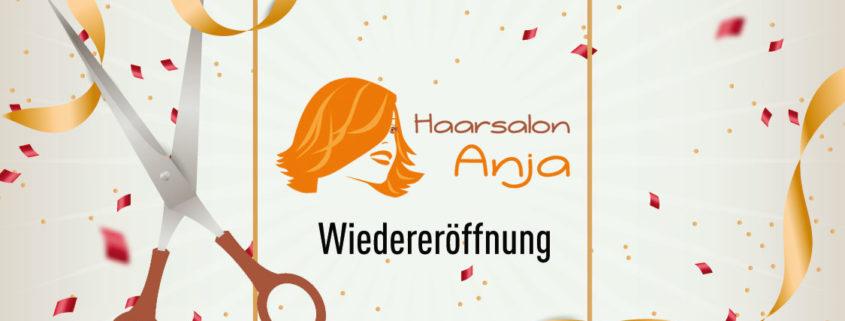 Haarsalon Anja, Friseursalon Teltow öffnet wieder